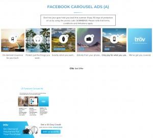 Trov Facebooks Ads